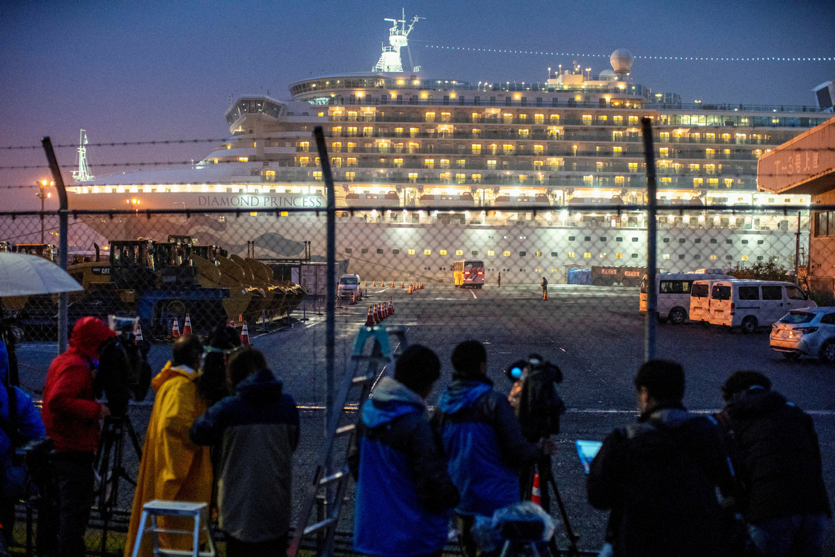 Additional 99 virus infections confirmed on cruise ship in Japan