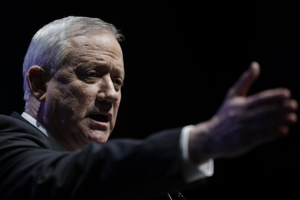 Israel's Gantz vows to form government without Netanyahu
