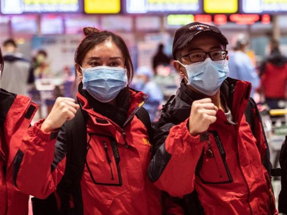 Medical team from Guizhou leaves for Wuhan