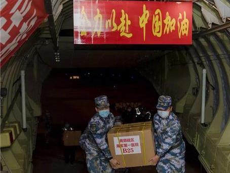 PLA Naval medics arrive in Wuhan to help battle COVID-19