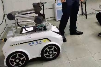 Temperature screening robots to assist epidemic control in China