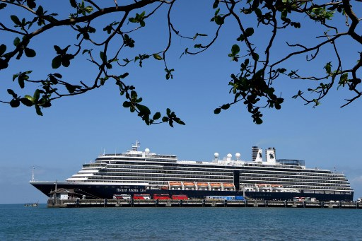 Virus fears rise after Cambodia's acceptance of cruise ship