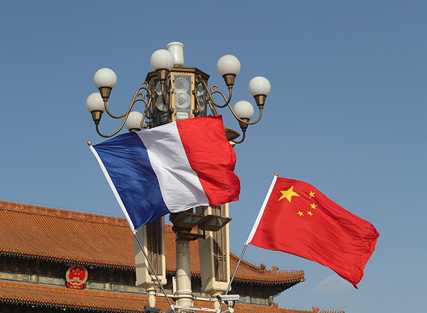 Xi says China willing to strengthen health cooperation with France