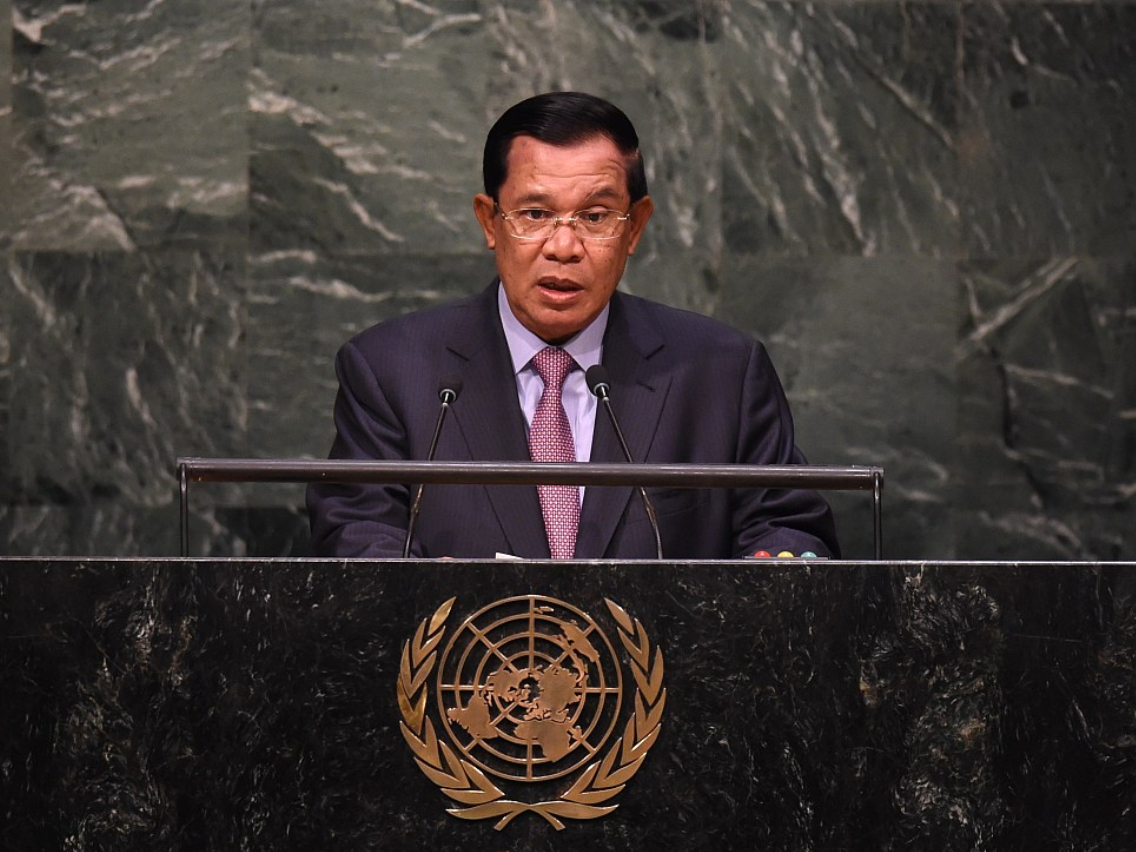 Cambodian PM lauds China's efforts to contain spread of COVID-19