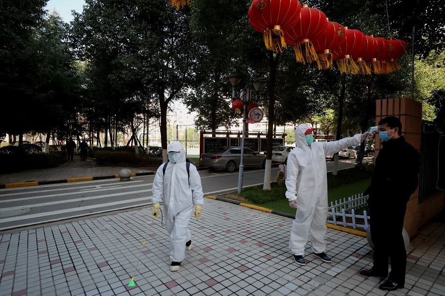 Duties amid epidemic work clarified by Wuhan govt