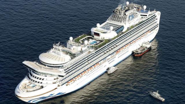 Coronavirus cases top 500 on cruise ship off Japan