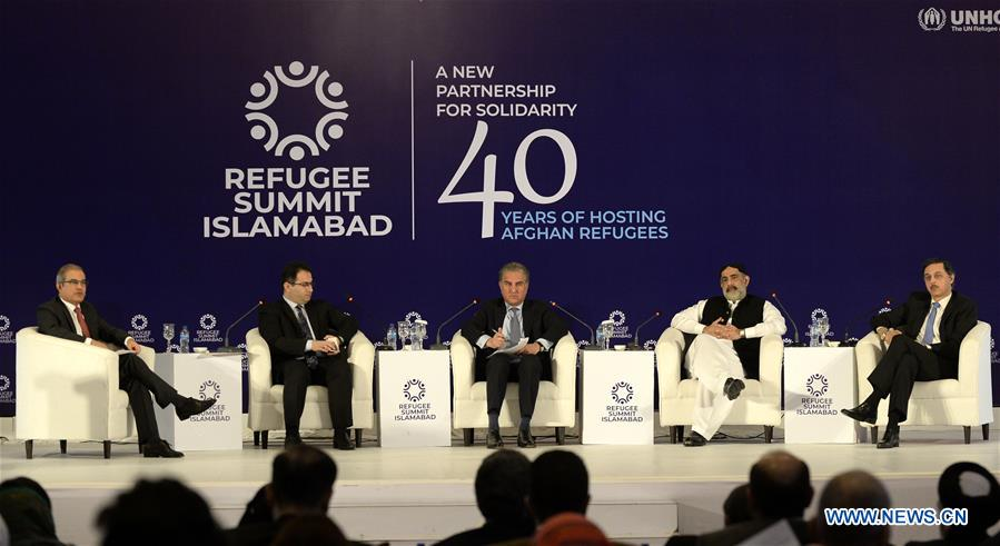 Pakistani FM attends closing session of Refugee Summit Islamabad