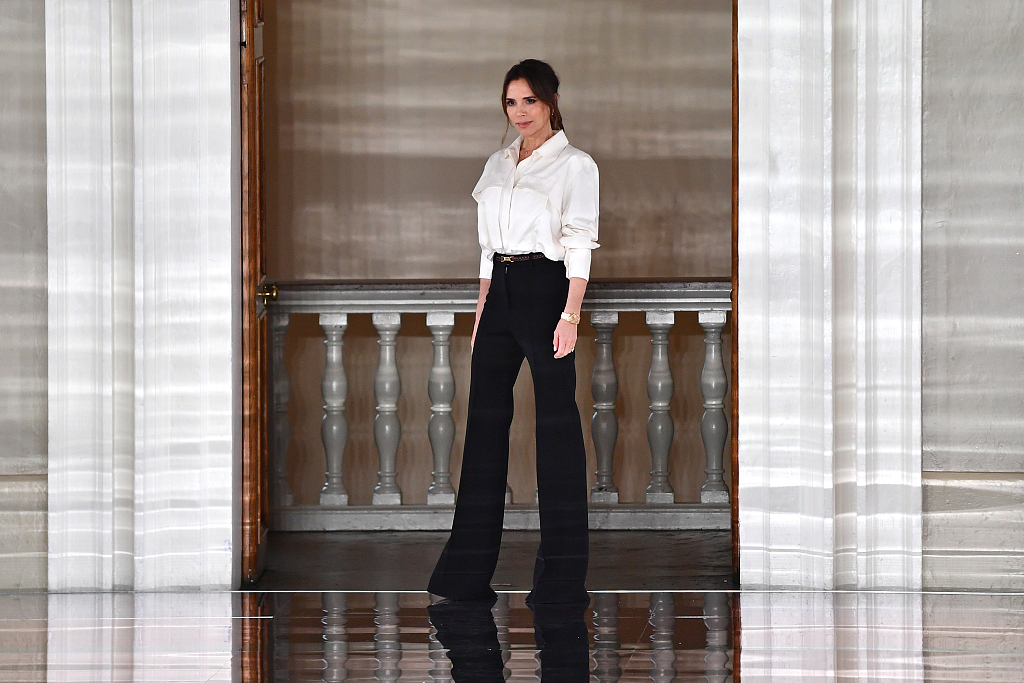 Victoria Beckham and more turn up the glamour at London Fashion Week