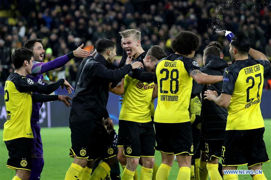 UEFA Champions League round of 16 first leg match: Borussia Dortmund vs. Paris Saint-Germain