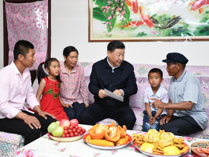'President Xi visited my home' - Relocated to a place of happiness