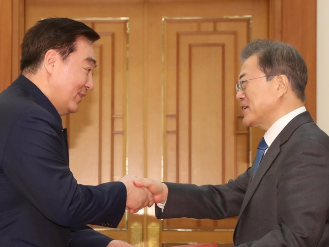Moon vows more active support for China in fight against coronavirus