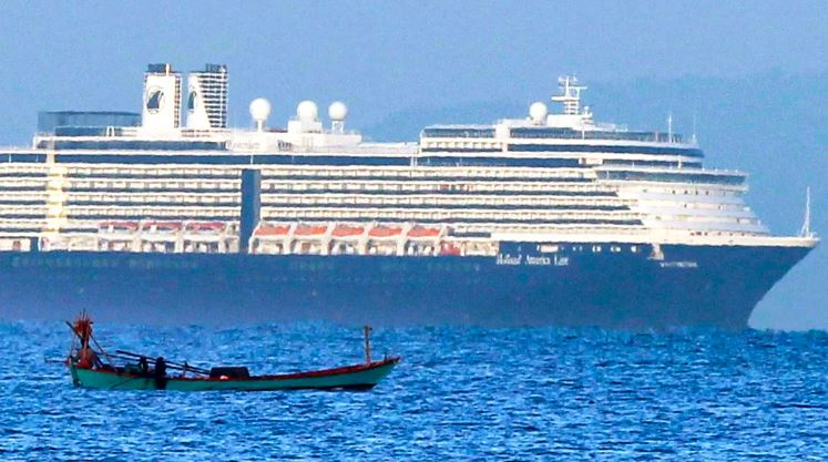 Cambodia to host reception for quarantined cruise ship passengers