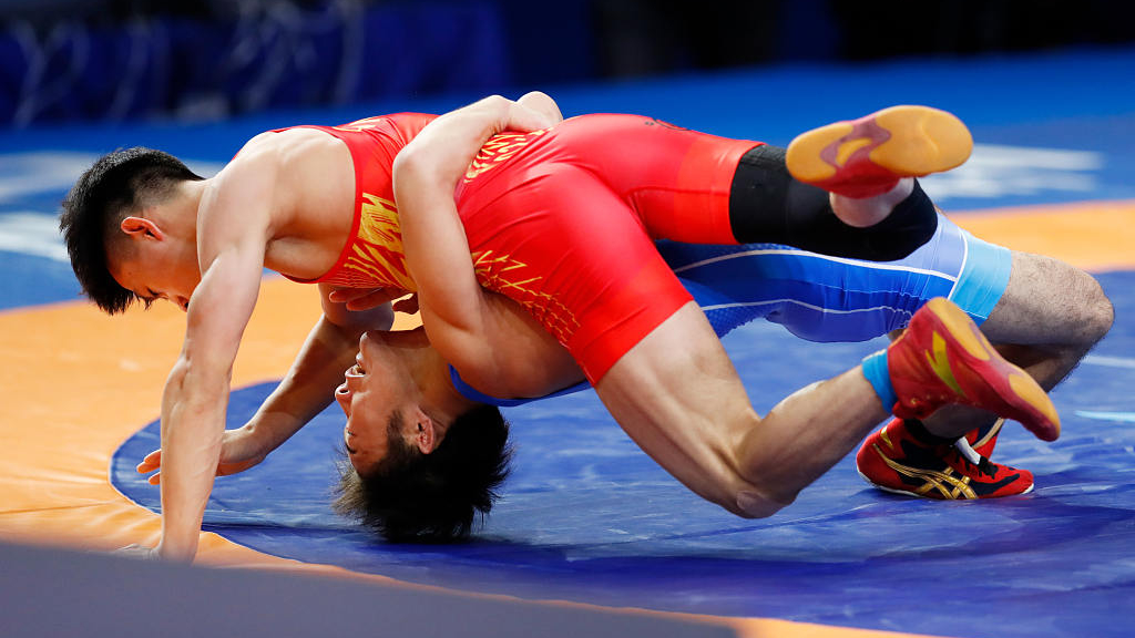 Chinese wrestlers to miss Asian championships in India due to virus