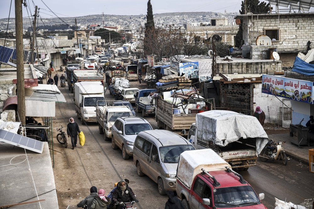 UN appeals for humanitarian corridors in northwestern Syria