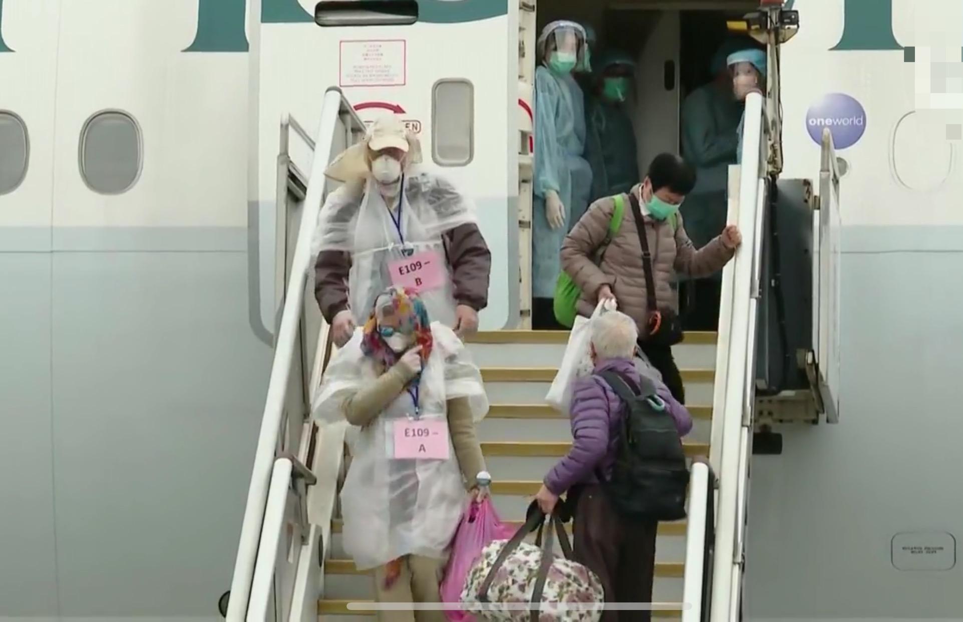 Chartered flight transports 106 residents back to Hong Kong