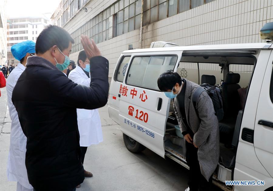 China's Hubei reports 349 new coronavirus cases