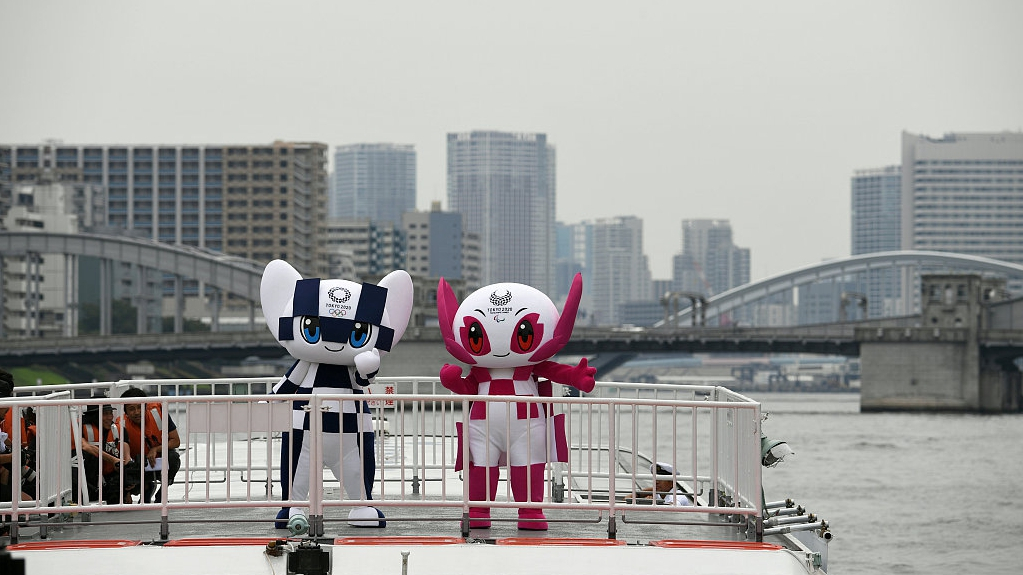 2020 Tokyo Olympics mascots depart for European sojourn