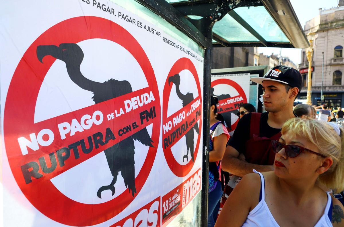 IMF: Argentine debt unsustainable, bondholders must help