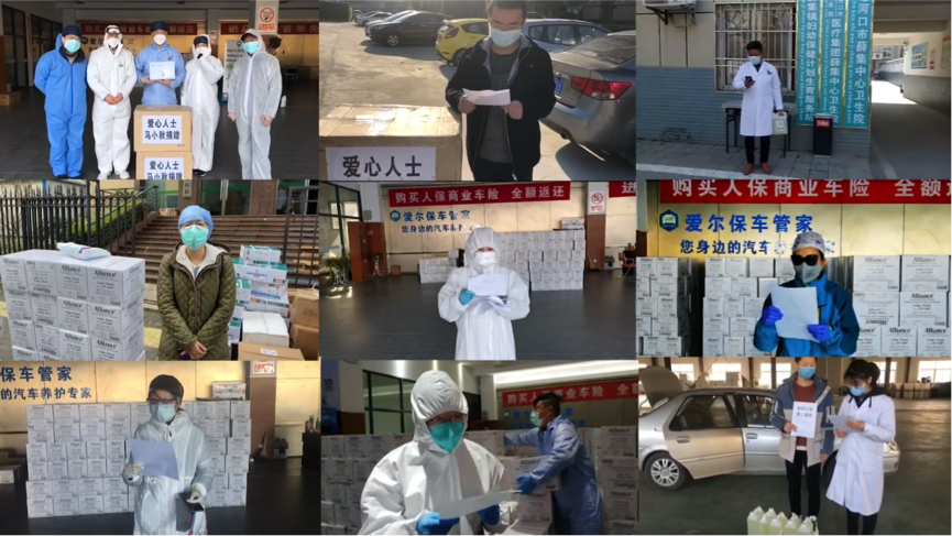 Wuhan volunteers help deliver medical supplies with grassroots efforts