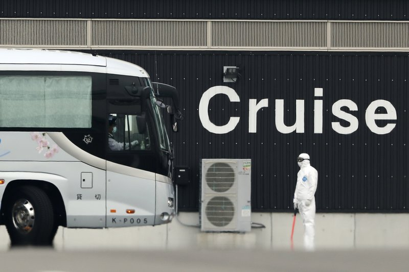 4 virus patients from cruise ship moving to Washington state