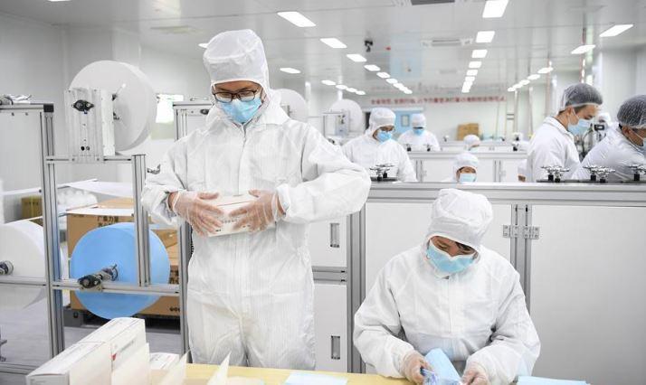 China ensures medical supplies for frontline medics