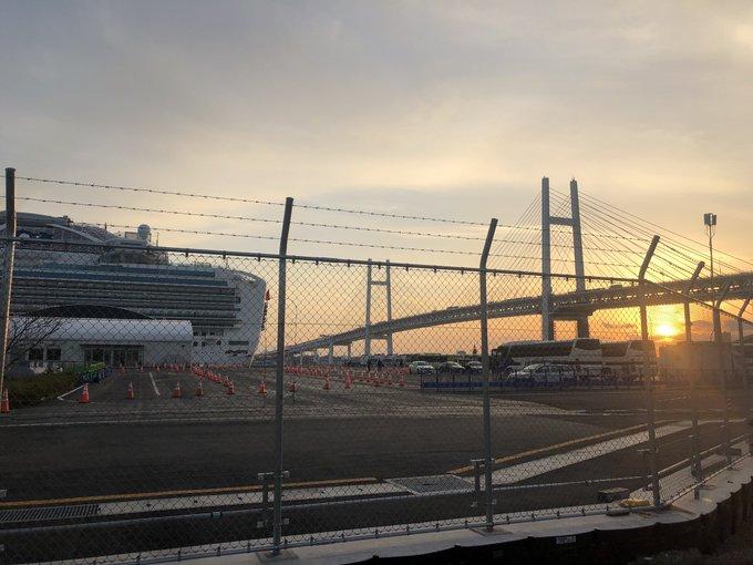 UK begins repatriating citizens from virus-stricken Japan cruise ship