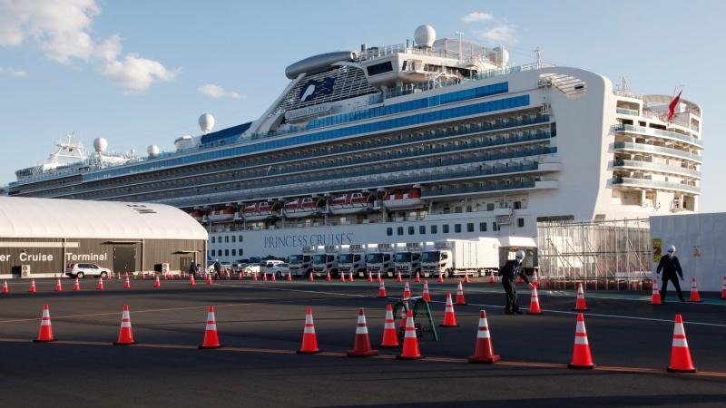 Canadian cruise ship passengers stranded in Japan begin quarantine in Canada
