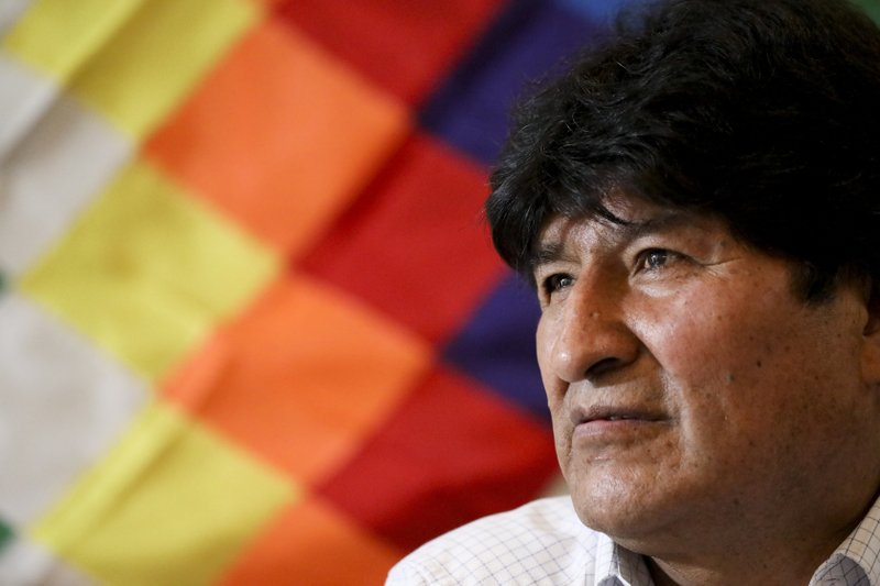 Bolivia's former president denounces 'attack on democracy' after rejection of senatorial candidacy