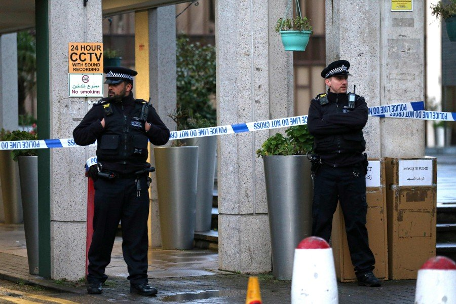 London police charge homeless man with mosque stabbing