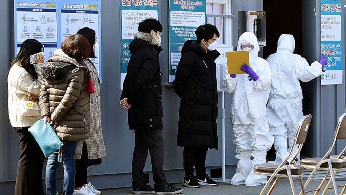 S. Korea reports 123 more cases of novel coronavirus, total rises to 556