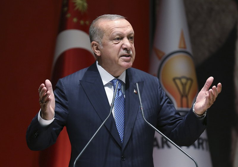 Erdogan says road map set for Syria's Idlib