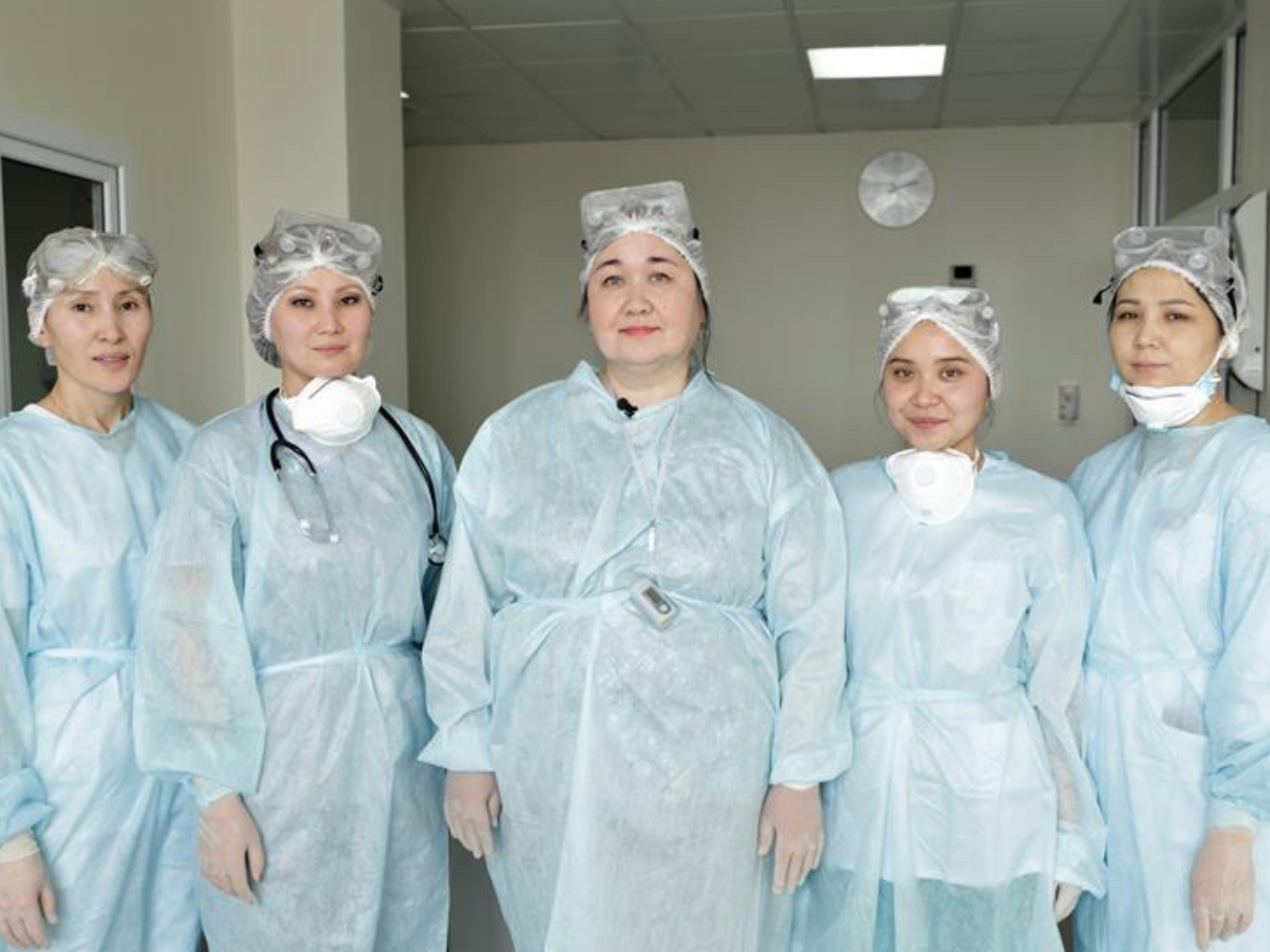 Kazakhstan medical staff express support for Chinese counterparts amid epidemic