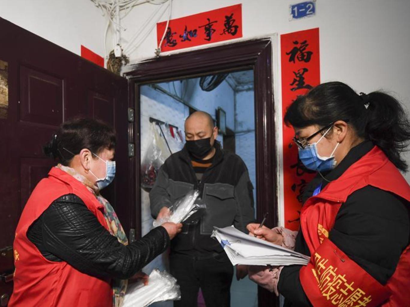 Community staff and volunteers fulfill duty in novel coronavirus battle