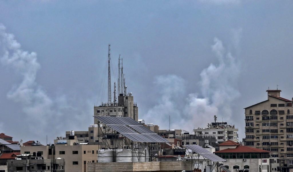 Israel says strikes Syria, Gaza after rocket attack