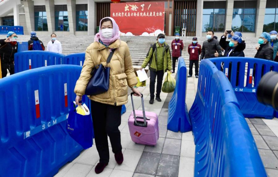NHC takes over 14 temporary hospitals in Wuhan with more than 3,000 vacant beds