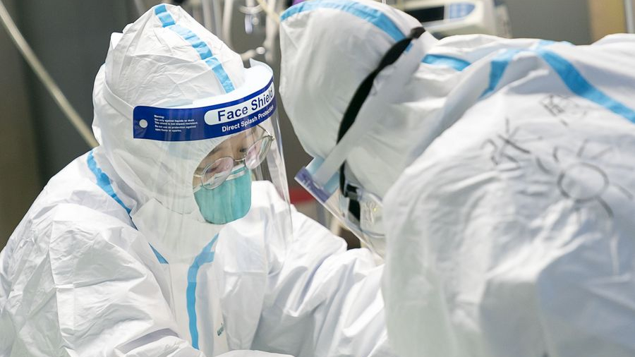China rolls out measures to care for medical workers