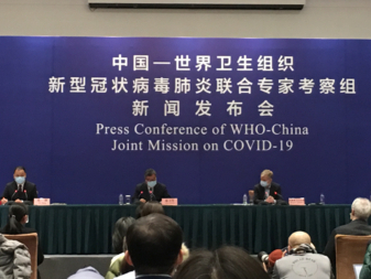 China-WHO joint presser: No significant mutation of COVID-19 so far