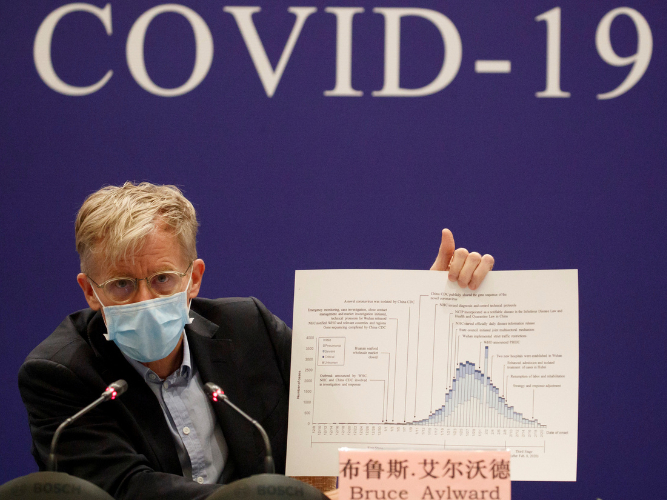 China's epidemic strategy averted many more cases: WHO expert