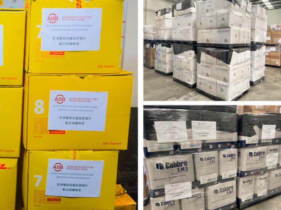 AIIB donates $1 million to help China fight COVID-19