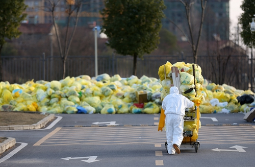 Medical waste strictly processed in Wuhan amid the COVID-19 epidemic