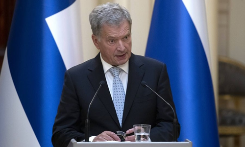 Finnish president expresses willing to keep co-operation with China