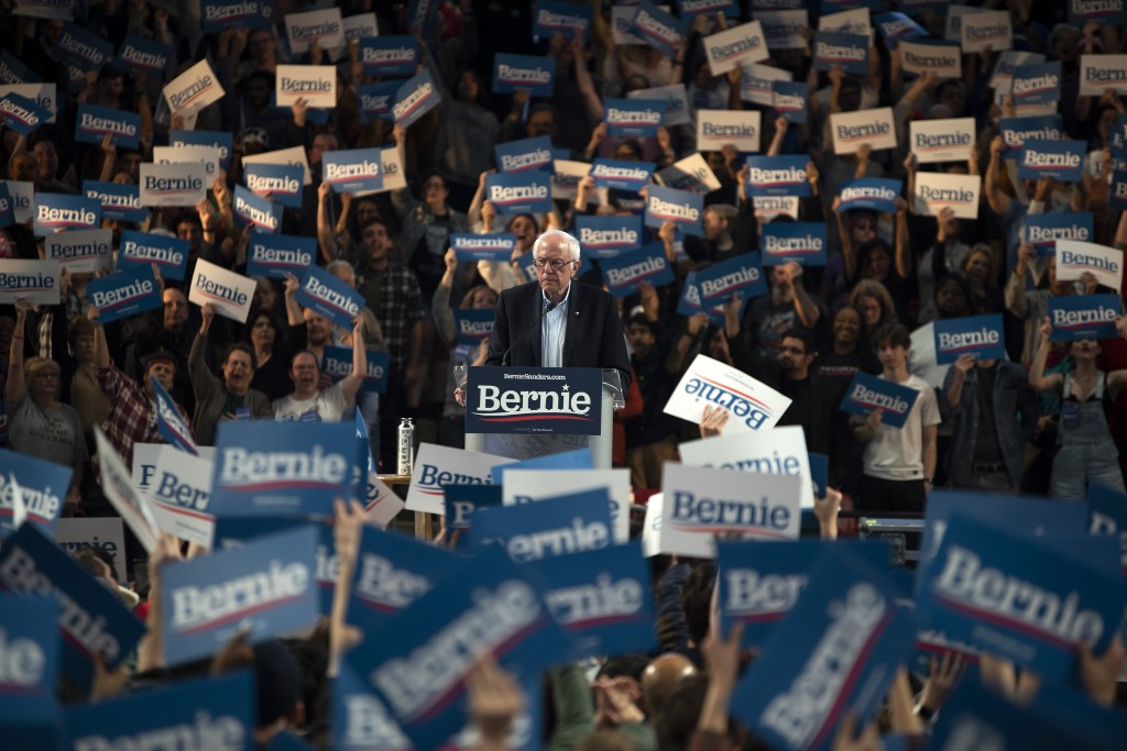 Trump claims Democrats will stop Sanders
