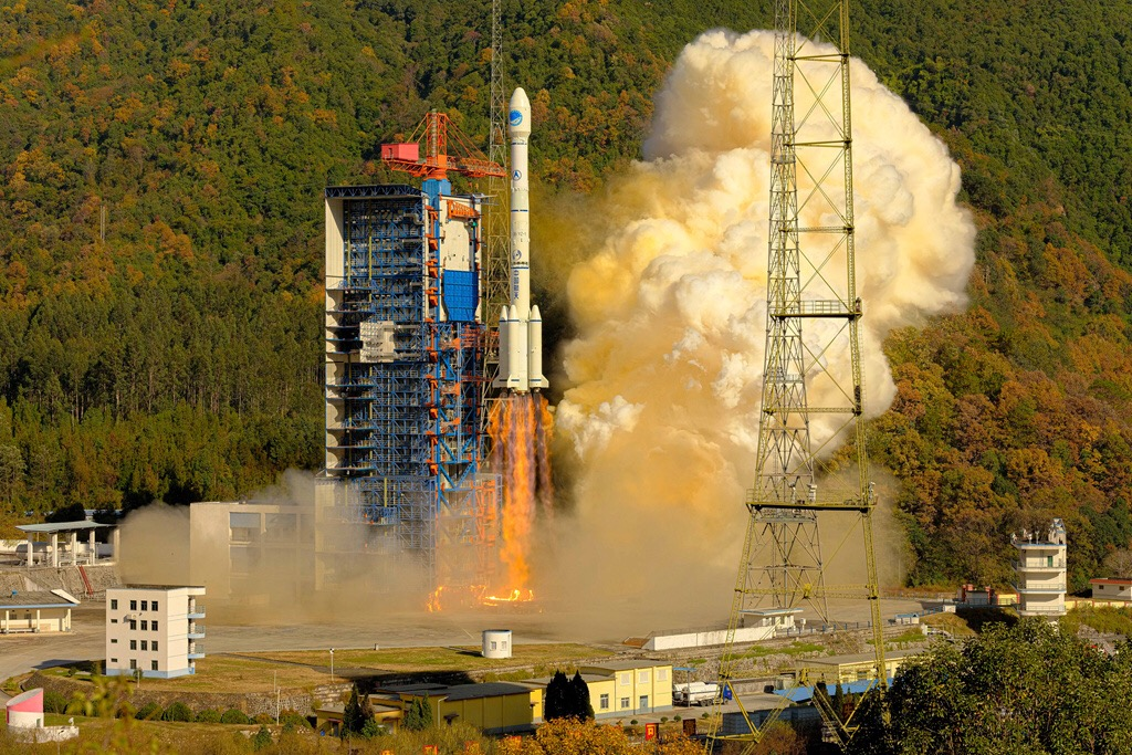 Four BeiDou satellites join system to provide services