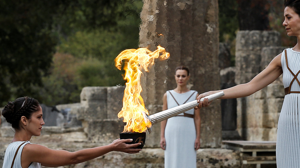 Greece takes measures for Olympic torch relay against COVID-19