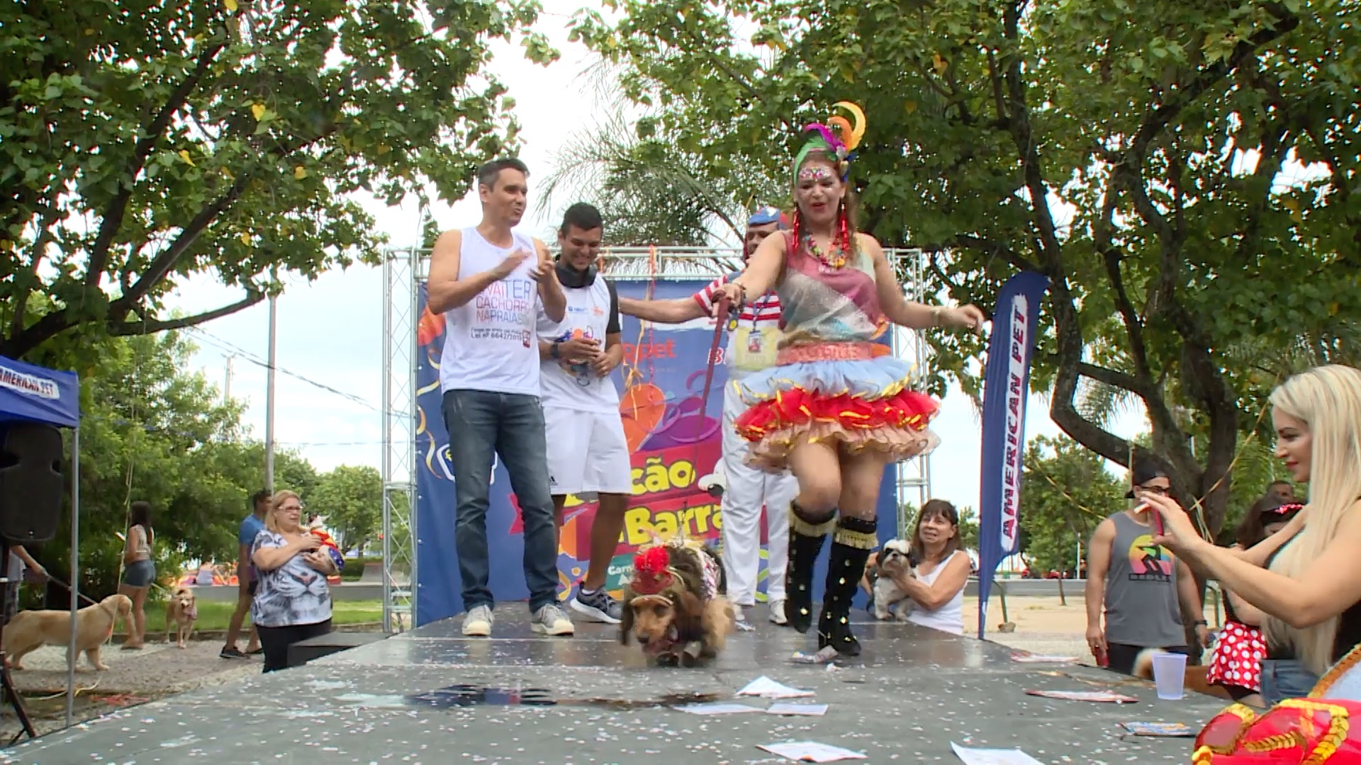 Brazilian party animals have their own carnival parade