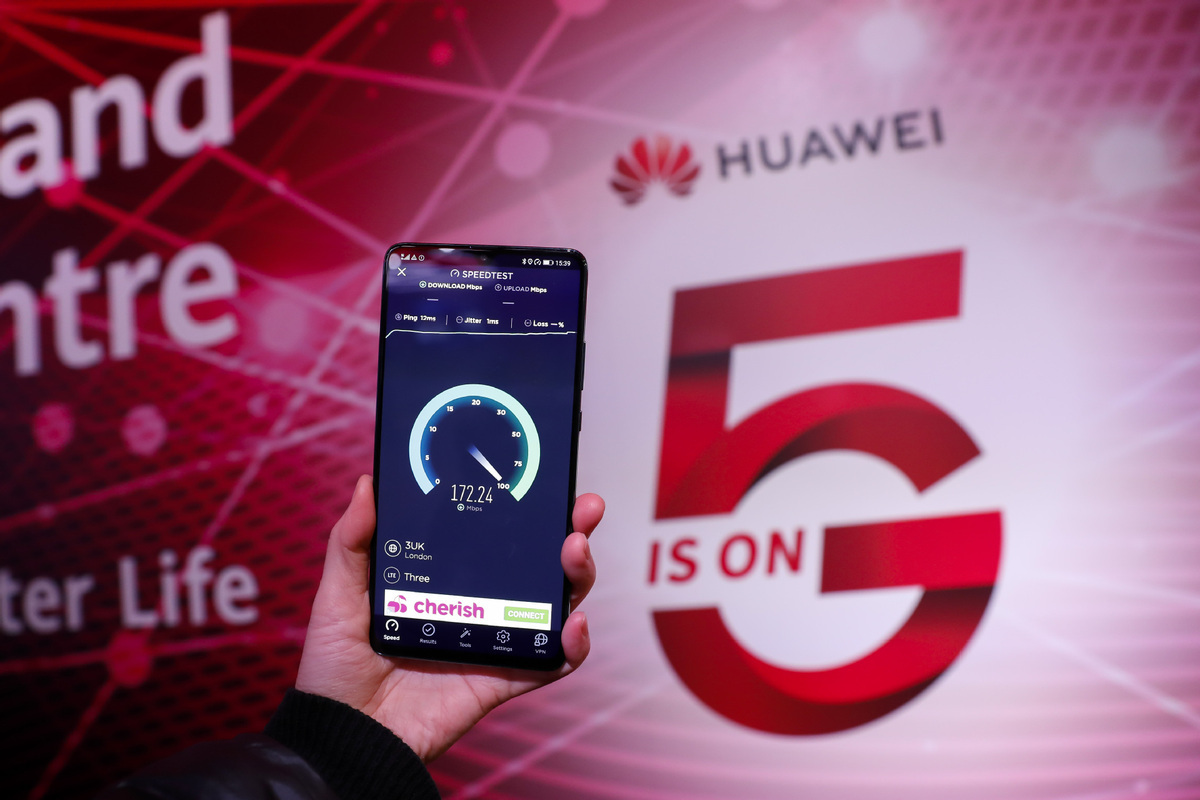 Huawei 2019 revenue up 18 pct