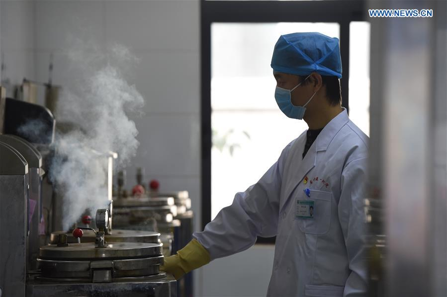 Hospital provides TCM for treating COVID-19 patients in Hefei