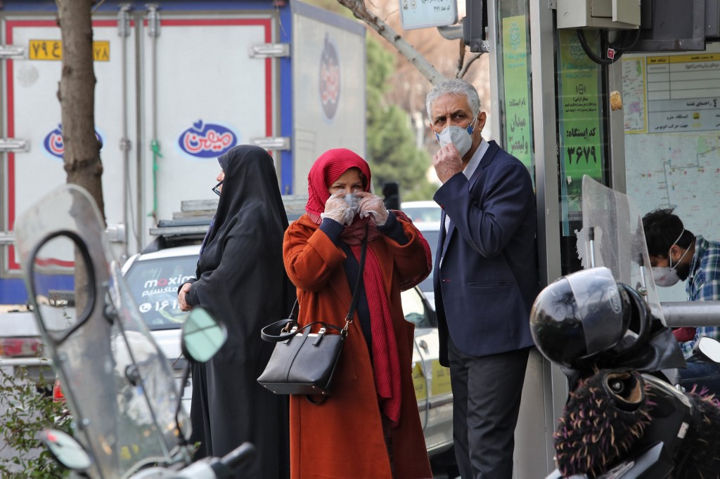 64 people affected by COVID-19 in Iran