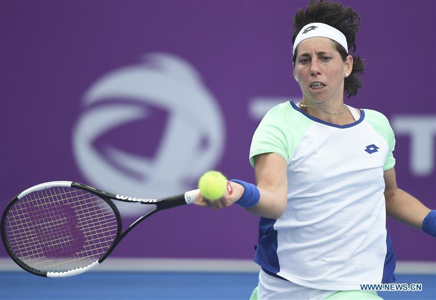 In pics: 2020 WTA Qatar Open tennis tournament
