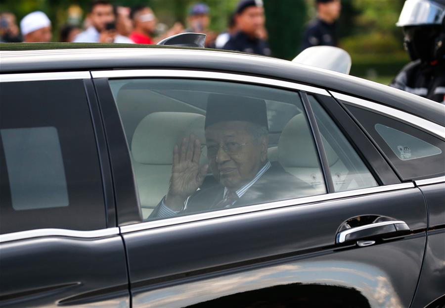 Mahathir's resignation accepted, appointed as interim PM in Malaysia